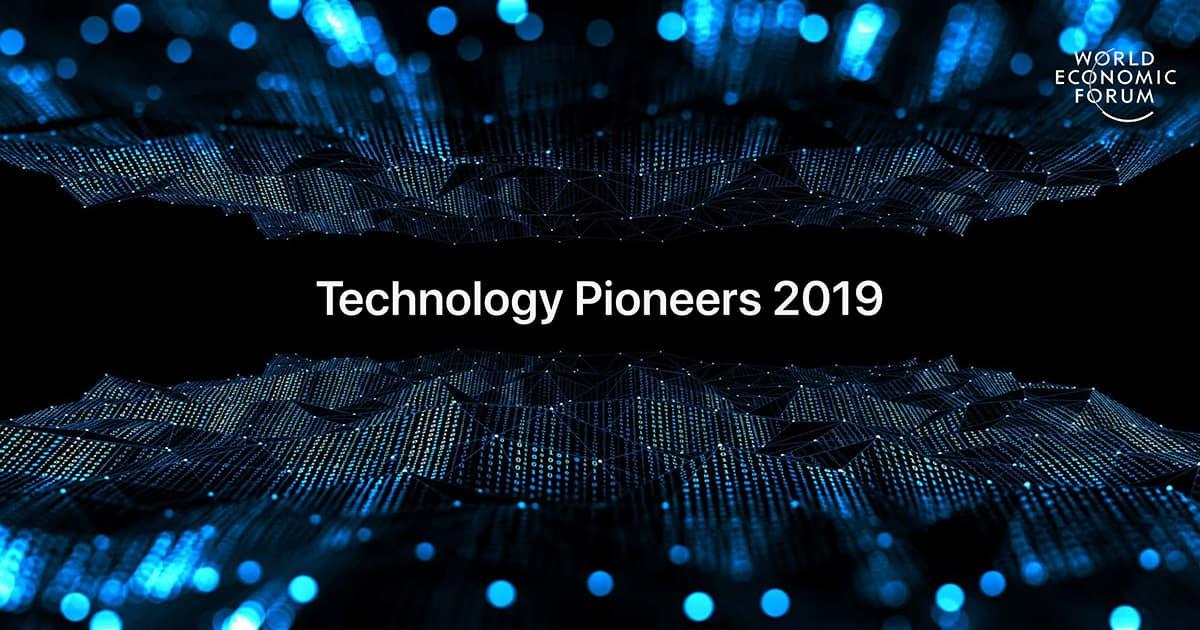 Technology Pioneers 2019